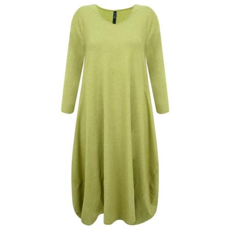 Foil Pie In The Sky Dress - Green