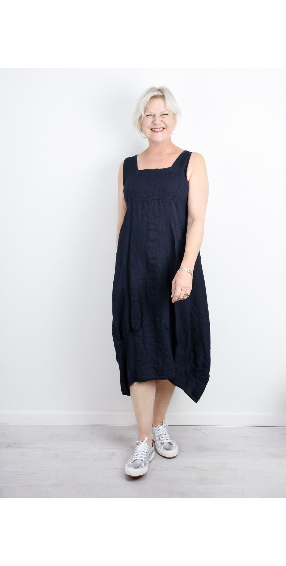 Demelza Linen Dress main image
