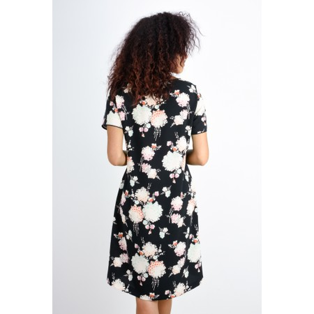Expresso Harmke Floral Print Dress - Black