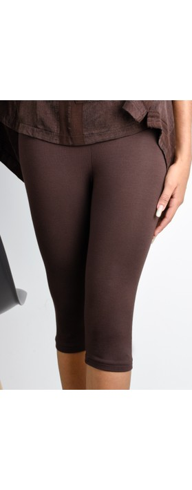 Thing Bamboo Cropped Legging Coffee