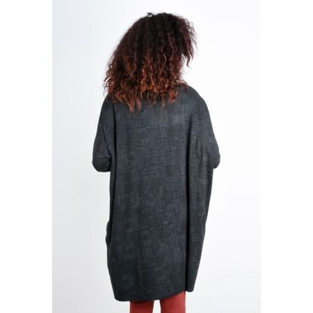 Mes Soeurs et Moi Kunfu Oversize Printed Jersey Tunic - Grey