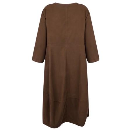 Mes Soeurs et Moi Agnes Easyfit Cord Dress - Brown