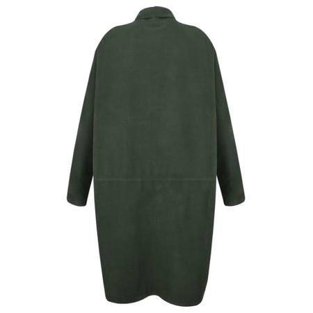 Mes Soeurs et Moi Aglae Cord Shirt Dress - Green