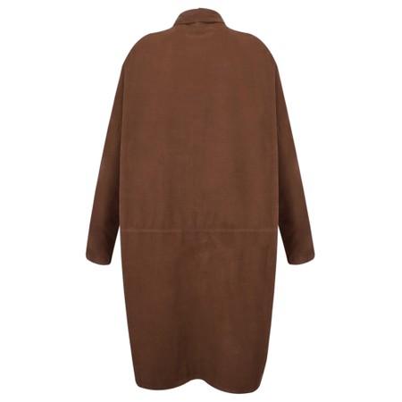 Mes Soeurs et Moi Aglae Cord Shirt Dress - Brown
