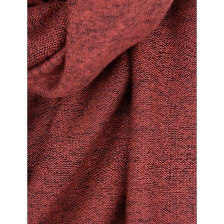Thing Long Soft Knit Scarf - Black