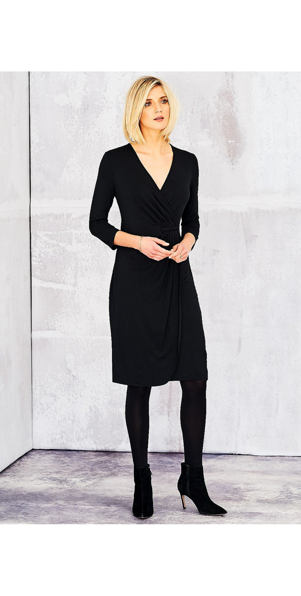 Solid Lycra Gigi Dress main image