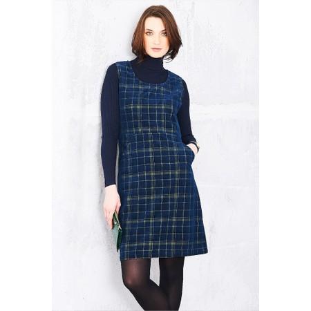 Adini Highland Check Highland Dress - Blue