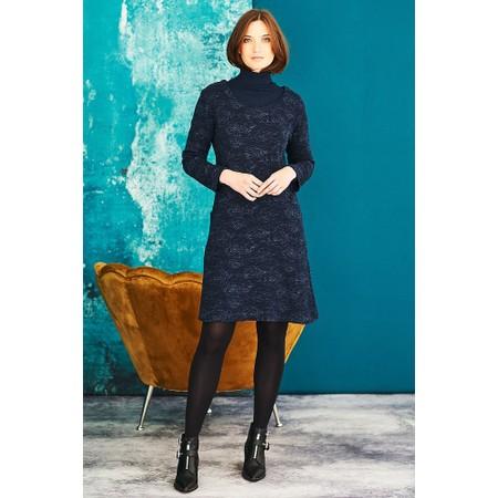 Adini Rose Weave Hailey Dress - Blue