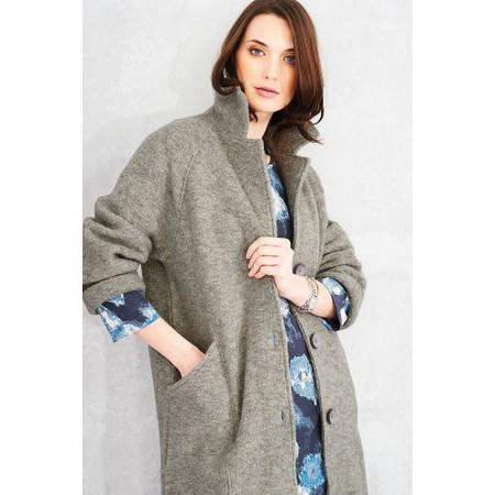 Adini Alpine Knit Lucille Coat - Metallic