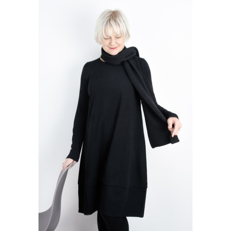 Mes Soeurs et Moi Poppins Supersoft Jersey Dress - Black