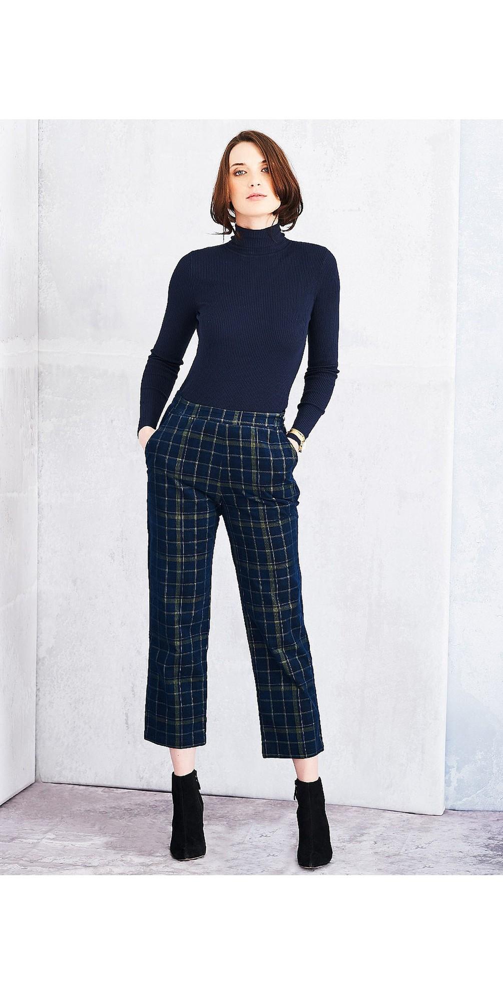 Highland Check Brooke Trousers main image