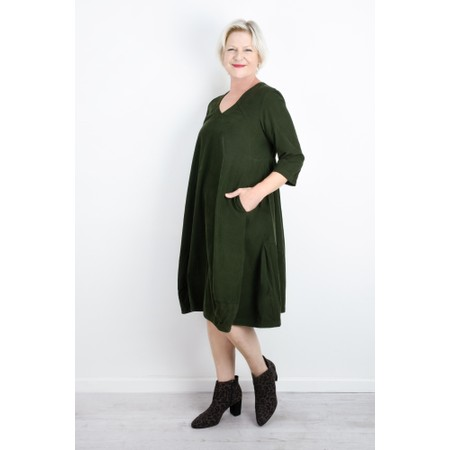 Mes Soeurs et Moi Agnes Easyfit Cord Dress - Green