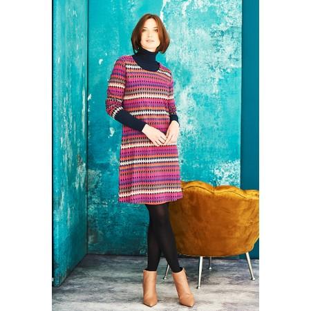 Adini Bolivia Print Bolivia Dress - Red