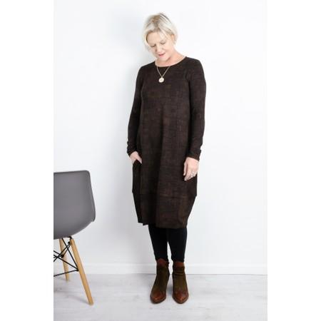 Mes Soeurs et Moi Kuzco Print Jersey Dress - Brown