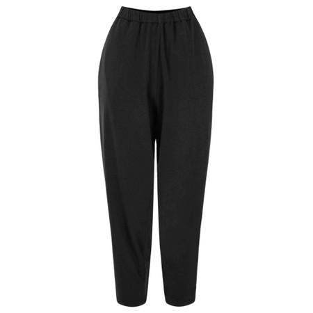 Mama B Raro Izmir Plain Trouser - Black