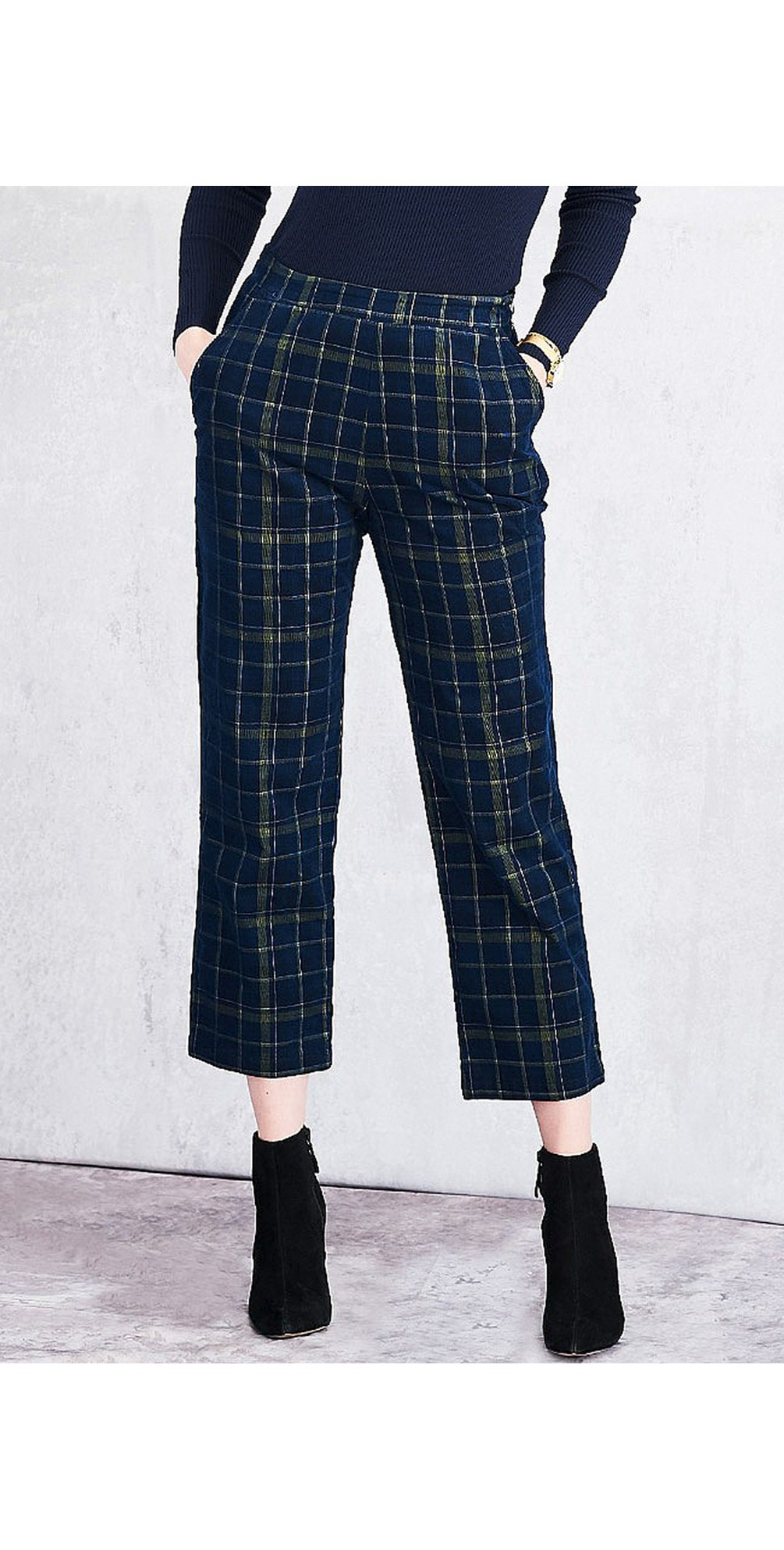 Highland Check Brooke Trousers main image