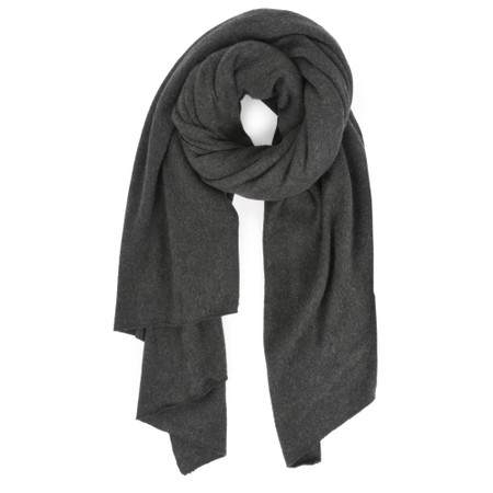 Mama B Segovia Knitted Plain Scarf - Grey