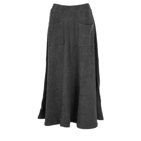 Mama B Sidney Flare Knitted Skirt - Grey