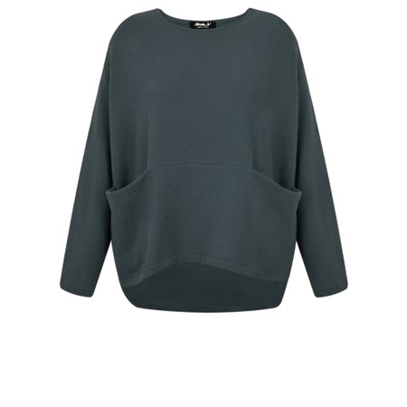 Mama B Equador Pocket Top  - Grey
