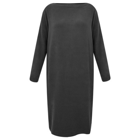 Mama B Rabat Fleece Knit Dress - Grey