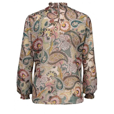 Expresso Jip Printed Paisley Blouse - Multicoloured