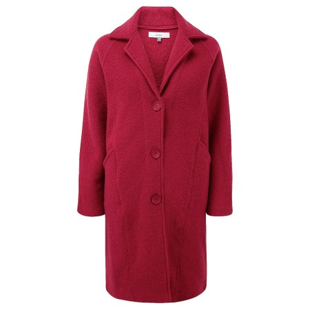 Adini Alpine Knit Lucille Coat - Red