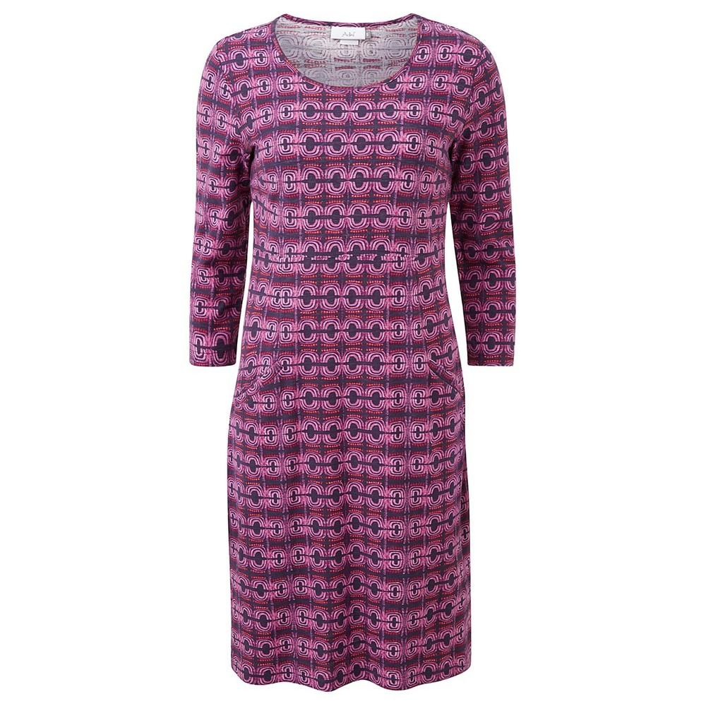 Adini Magus Print Magus Dress Plum
