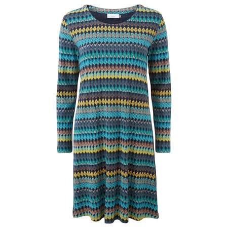 Adini Bolivia Print Bolivia Dress - Blue