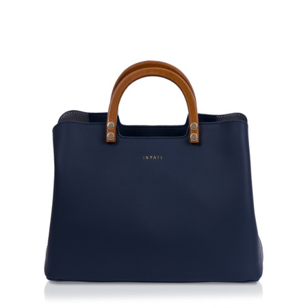 Inyati Inita Top Handle Bag  - Blue