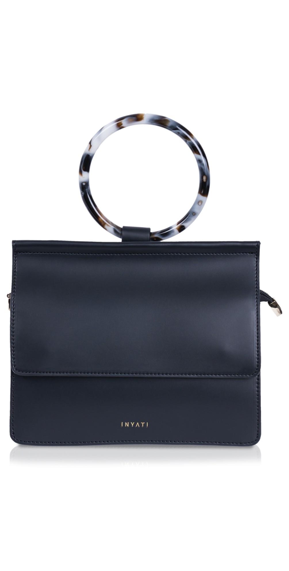 Coco Faux Leather Loop Handle Crossbody Bag main image