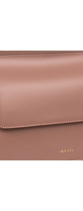 Inyati  Coco Faux Leather Loop Handle Crossbody Bag Dusty Lavender