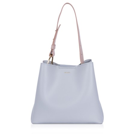 Inyati Jane Faux Leather Tote Bag - Grey