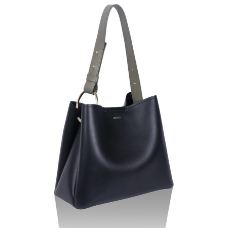 Inyati Jane Faux Leather Tote Bag - Black