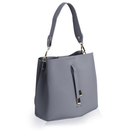Inyati Cleo Faux Leather Bucket Bag  - Grey