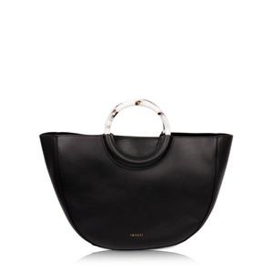 Inyati Georgia Faux Leather Half Moon Tote Bag