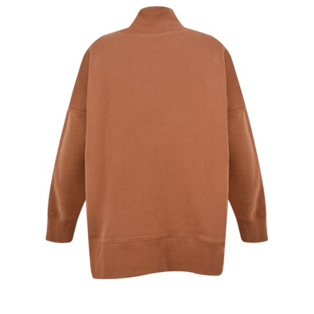 French Connection Sunday Fleece Lined Jumper - Brown