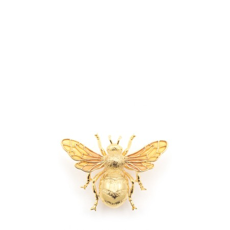 Bill Skinner Queen Bee Brooch  - Gold