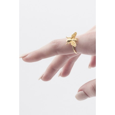 Bill Skinner Queen Bee Open Ring  - Gold