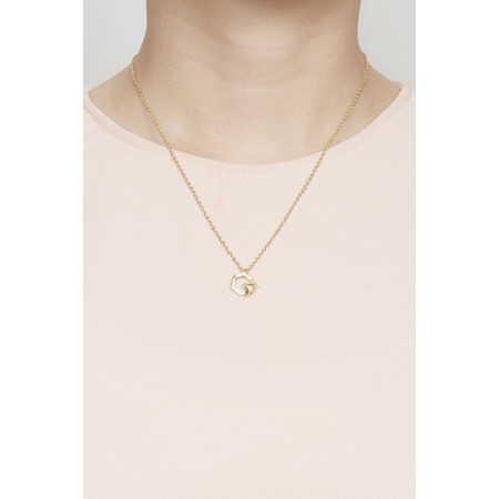 Bill Skinner Hexagon Bee Mini Pendant necklace - Gold