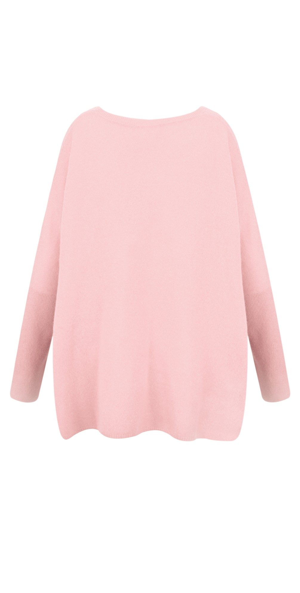 Astrid Round Neck Poncho Cashmere Jumper main image