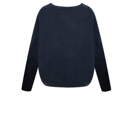 Absolut Cashmere Artemis Libertie Wide Sleeve Cashmere Jumper - Blue