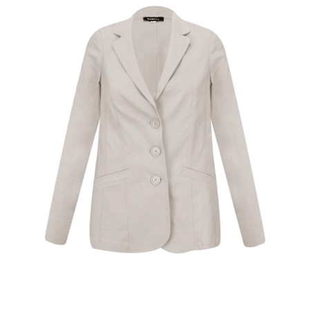 Robell Emilia Fitted Jacket - Beige