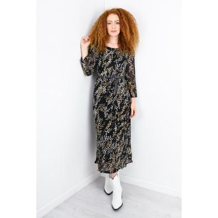 Adini Mariana Print Mariana Dress - Black
