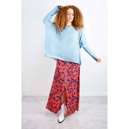 Mercy Delta Moulton Skirt - Red