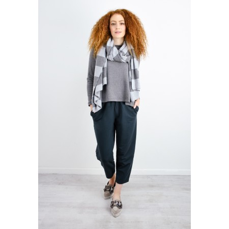 Mama B Raro Izmir Plain Trouser - Grey