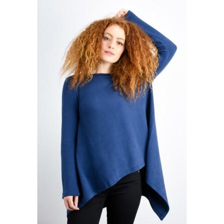 Mama B Caracas Plain Easy Fit Top - Blue