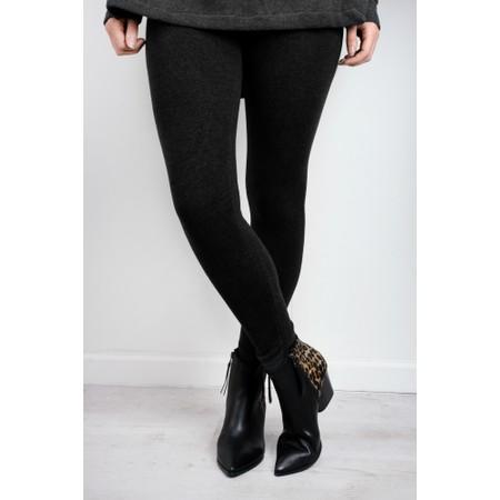 Mama B Knitted Leggings - Black