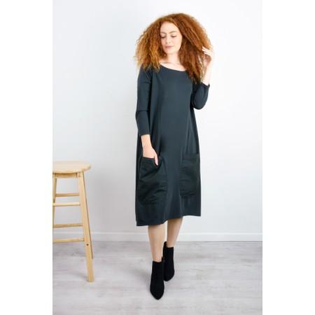 Mama B Astana Jersey Dress with Pockets - Grey