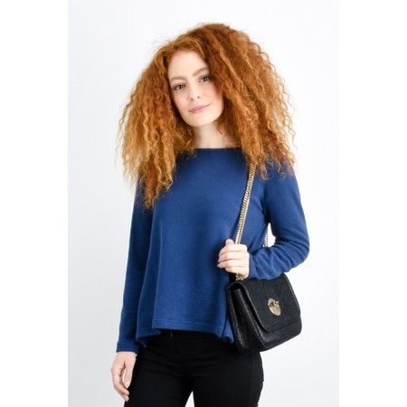 Mama B Cancun Plain Top - Blue