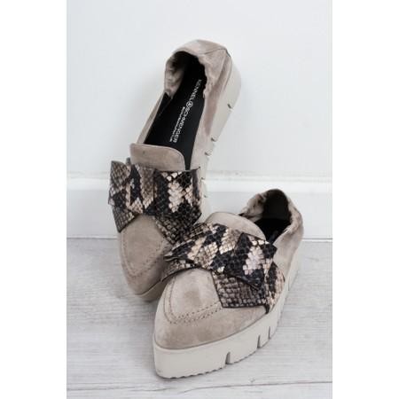 Kennel Und Schmenger PiaXXL Boa bow Loafer Shoe - Multicoloured